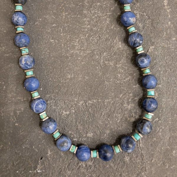 Soladite and Turquoise Necklace