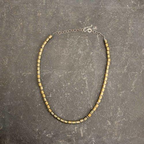 Sara Withers Hematite Tube Necklace