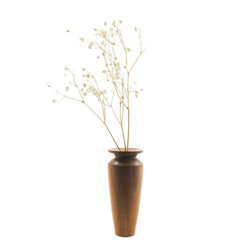 Kim W Davis Mora Amarilla Bud Vase