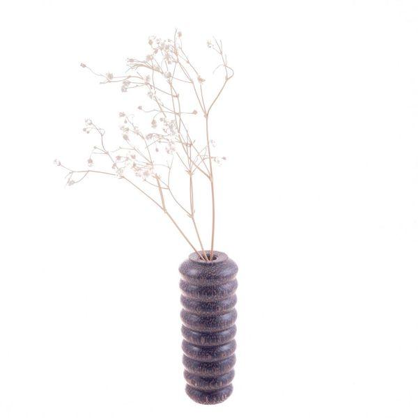 Black Palm Bud Vase