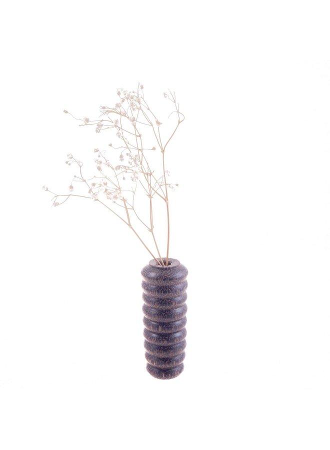 Schwarze Palm Bud Vase