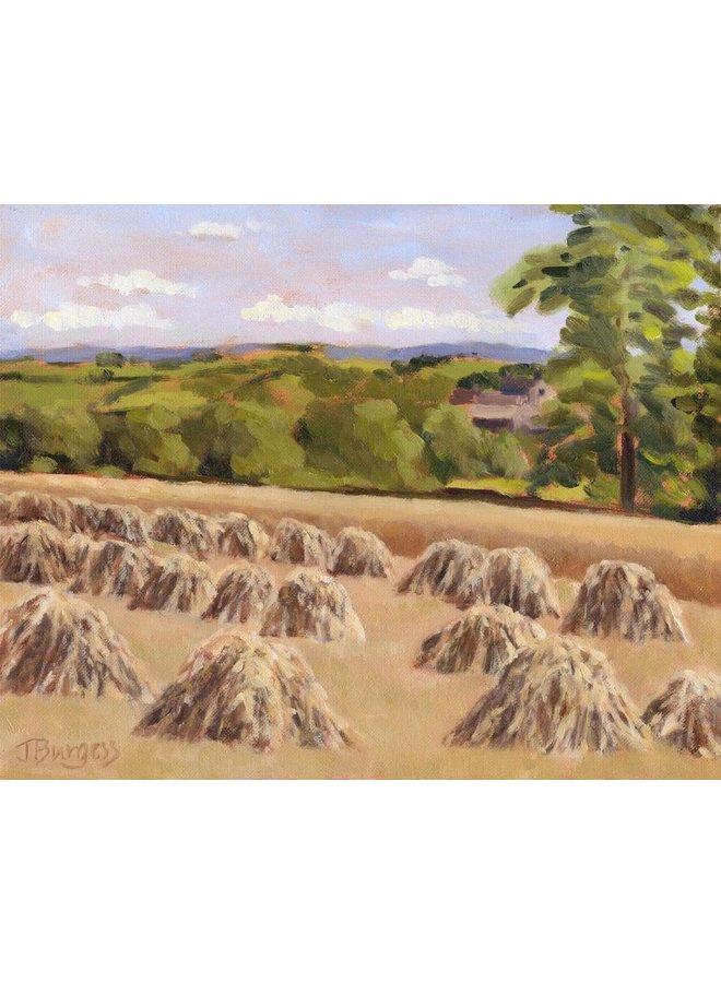 Corn Stooks, Birdsedge