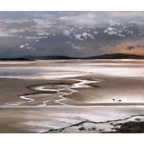 Jane Burgess Low Tide Silverdale