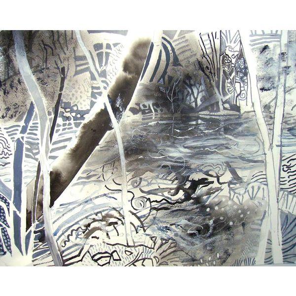 Glynhir am Flussufer