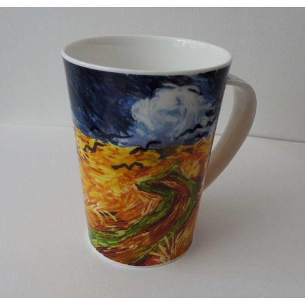 Van Gogh Crows Tall Mug Argyll
