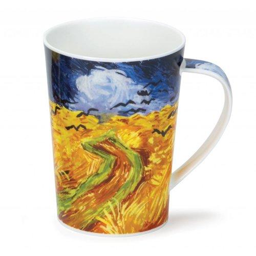 Dunoon Ceramics Van Gogh kräht hohen Becher Argyll