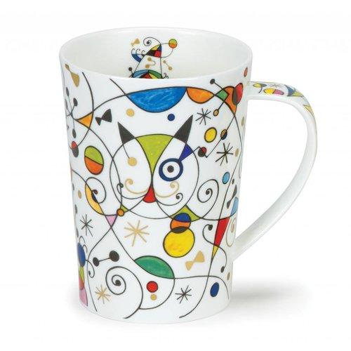 Dunoon Ceramics Moderna Miro Katzen-hoher Becher Argyll