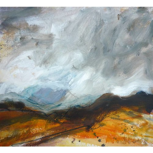 Liz Salter Tussen de heuvels