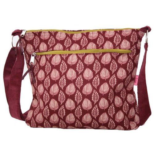 LUA Russett  Leaf - Messenger Bag Large