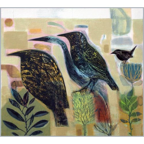 Tom Wood Vier Vögel