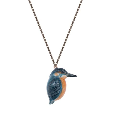 And Mary Kingfisher necklace 041