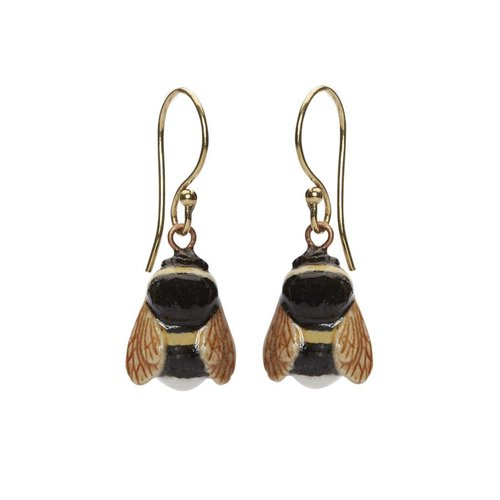 And Mary Bee earrings gold plated hooks