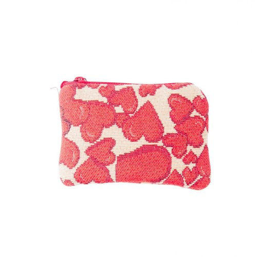 Belly Moden Hearts Tapestry Small Purse