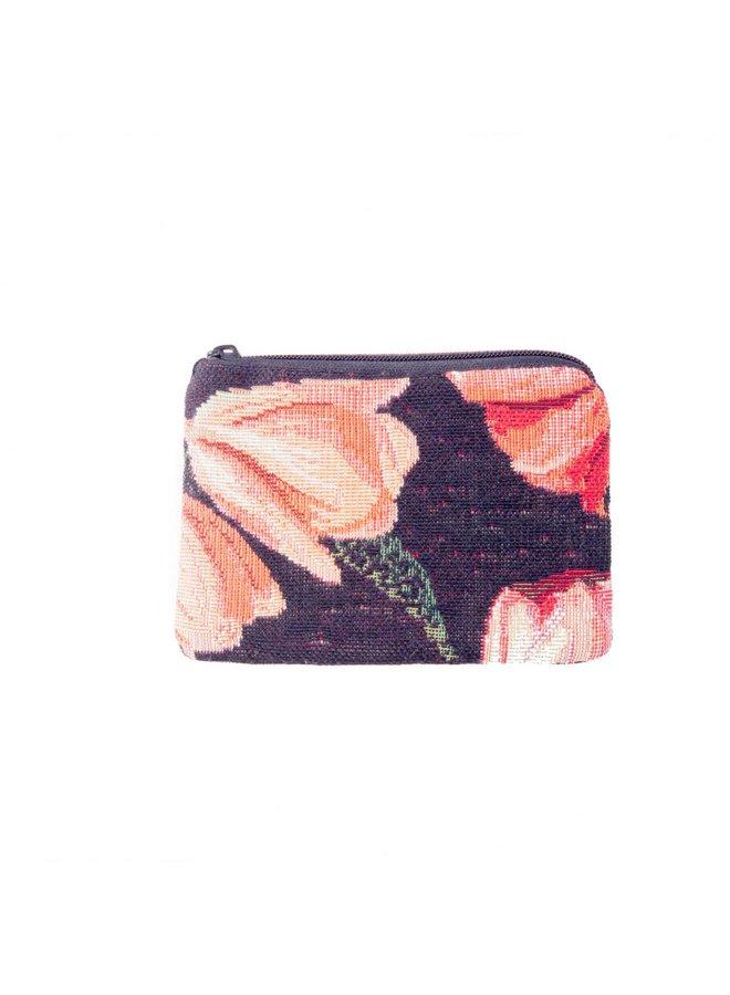 Tulip Tapestry Small Purse 12x 8 cm