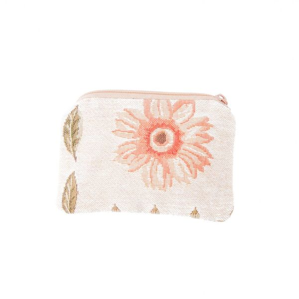 Flower Tapestry Small Purse
