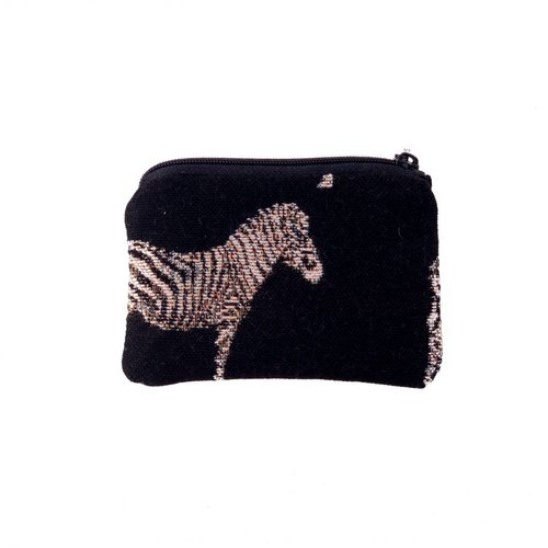 Belly Moden Zebra Tapestry Small Purse 12x 8 cm