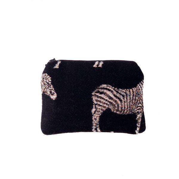 Zebra Tapestry Small Purse 12x 8 cm