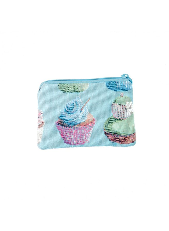 Cakes Tapestry Small Purse 12x 8 cm