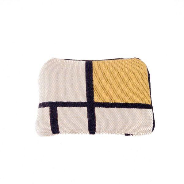 Mondrian Tapestry Small Purse 12x 8 cm
