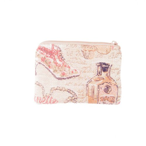 Belly Moden Slipper Tapestry Small Purse 12x 8 cm