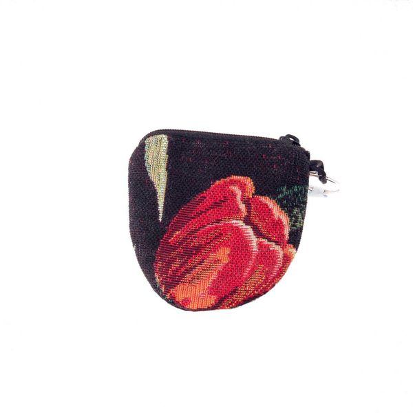 TulipTapestry Keyring Purse 8 x 8 cm
