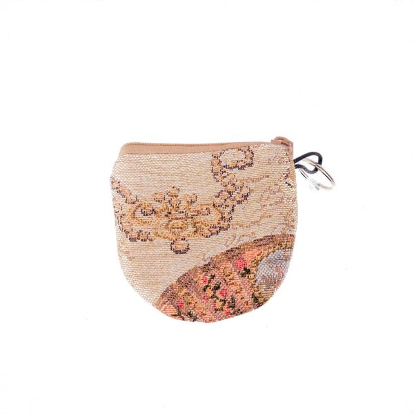 Ornament Tapestry Keyring Purse 8 x 8 cm