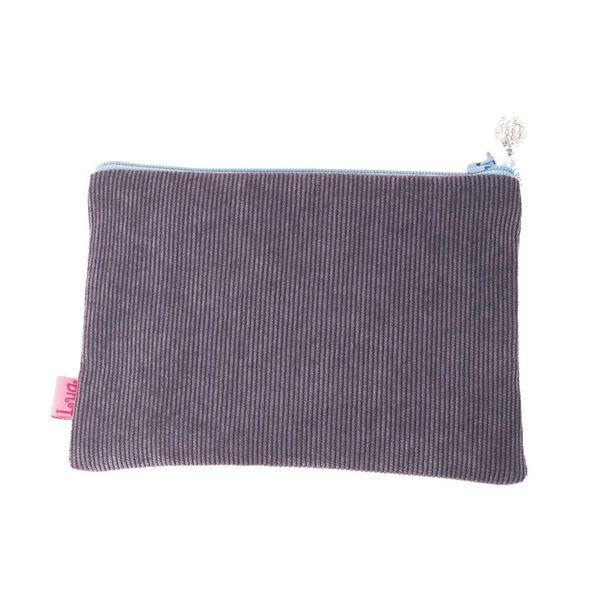 Reißverschluss-Portemonnaie mit Waschbär