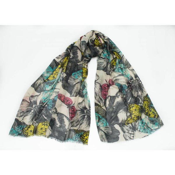 Butterfly Modal and Silk Scarf 05