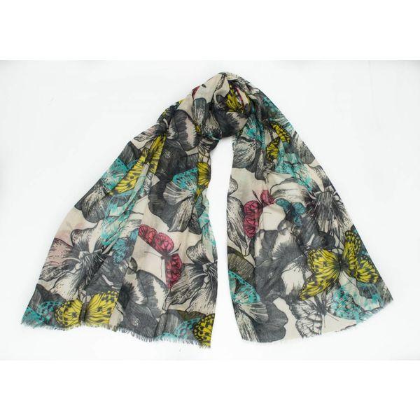 Jewel Butterfly Modal y pañuelo de seda