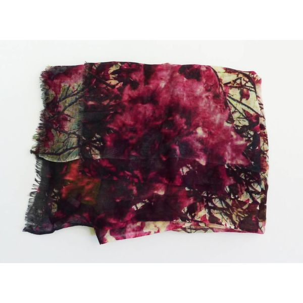 Cherry Blossom Modal and Silk Scarf