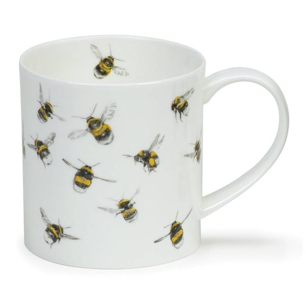 Bees Fine Bone China Mug by Hannah Longmuir