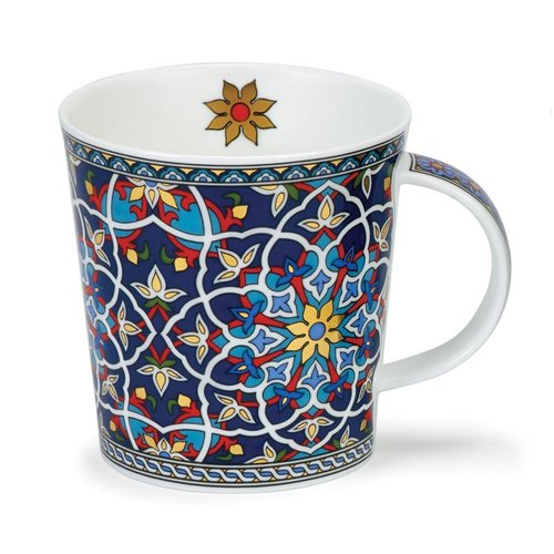 Dunoon Ceramics Sheikh Red mit 22 Karat Gold von David Broadhurst