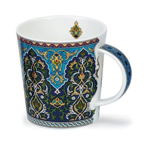 Dunoon Ceramics Jeque verde con oro de 22 quilates de David Broadhurst