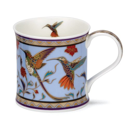 Dunoon Ceramics Hummingbird 22 carat gold mug by David Broadhurst