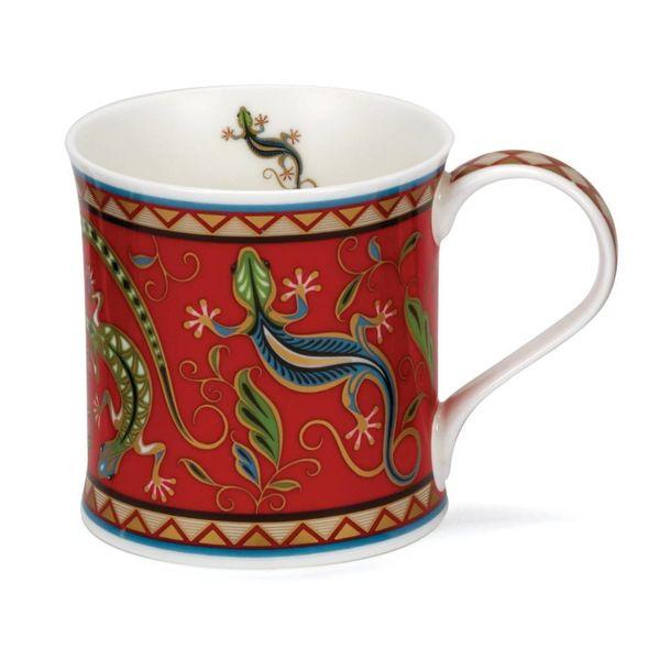 Lizard 22 carat gold mug by David Broadhurst