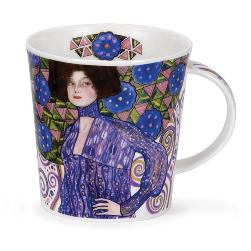 Dunoon Ceramics Adoration Klimt Blue  Mug Cairngorm