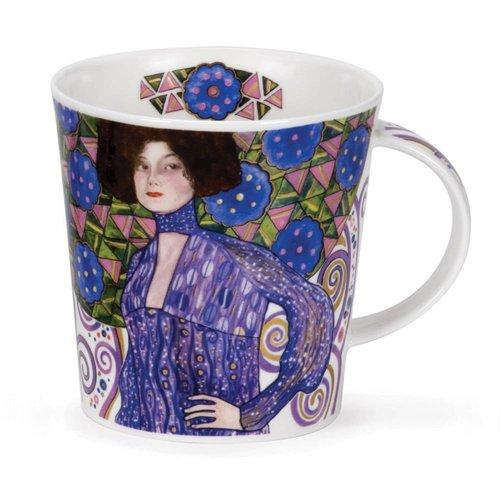 Dunoon Ceramics Taza Adoración Klimt Emilie Floge de 22 quilates