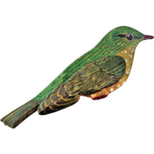 Melanie Tomlinson Bird Enamel Brooch