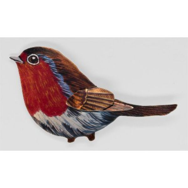 Robin Brooch 72x44mm