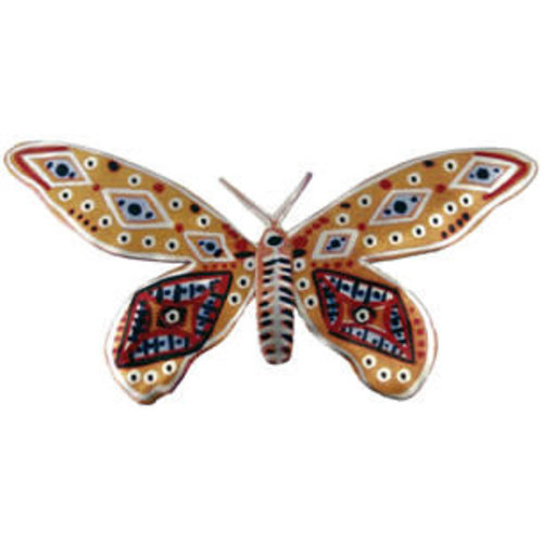 Melanie Tomlinson Butterfly Brooch BB13 80x42mm