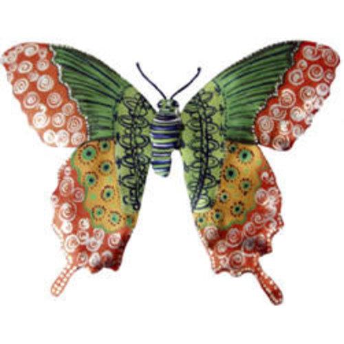 Melanie Tomlinson Butterfly Enamel Brooch