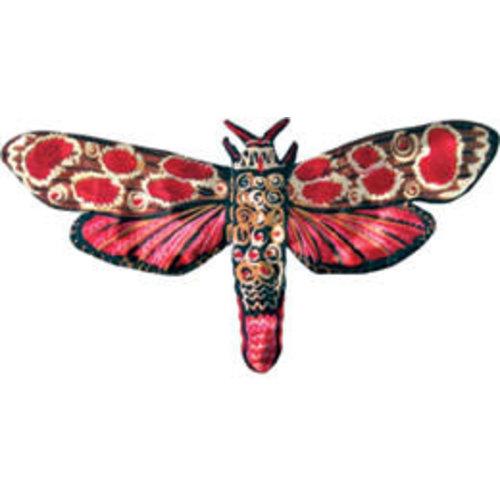 Melanie Tomlinson Moth Brooch MTHB11 75X40mm