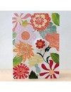 Flowers Badge Card