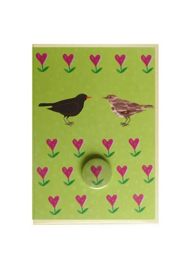 Blackbirds Badge Card