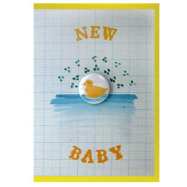 New Baby Badge Card