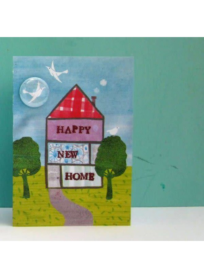 Happy New Home Badge Card