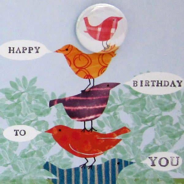 Happy Birthday to You Badge Card