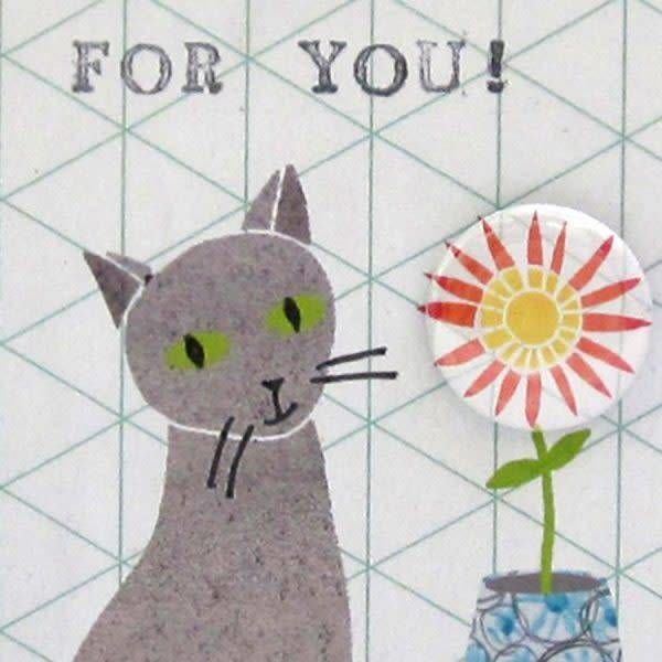For You cats Badge Card