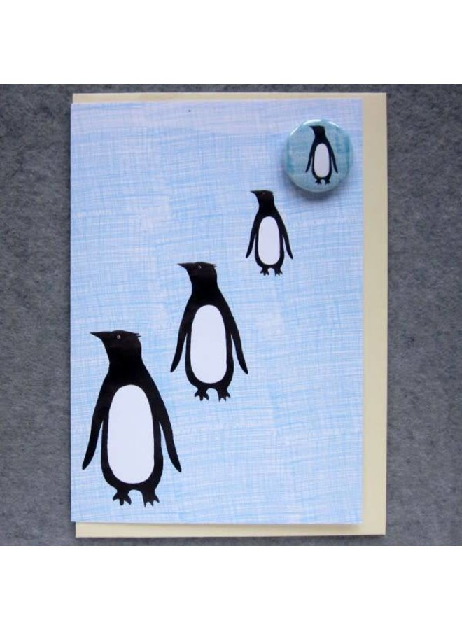 Penguin Badge Card
