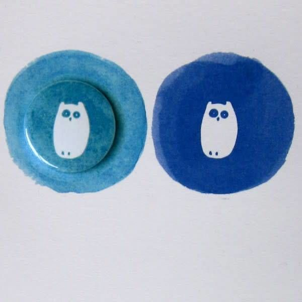 2 Owls Badge Card